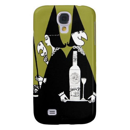 Caldera Halloween del alcohol del Brew de las bruj Funda Para Galaxy S4