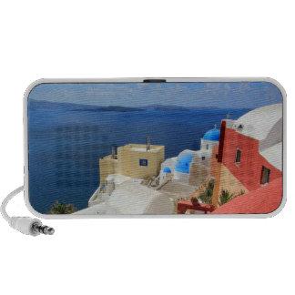 Caldera, Oia, Santorini, Grecia Altavoz