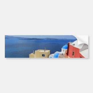 Caldera, Oia, Santorini, Greece Bumper Sticker