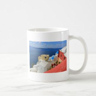 Caldera, Oia, Santorini, Greece Coffee Mug
