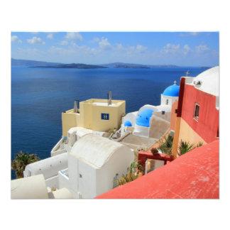 Caldera, Oia, Santorini, Greece Flyer