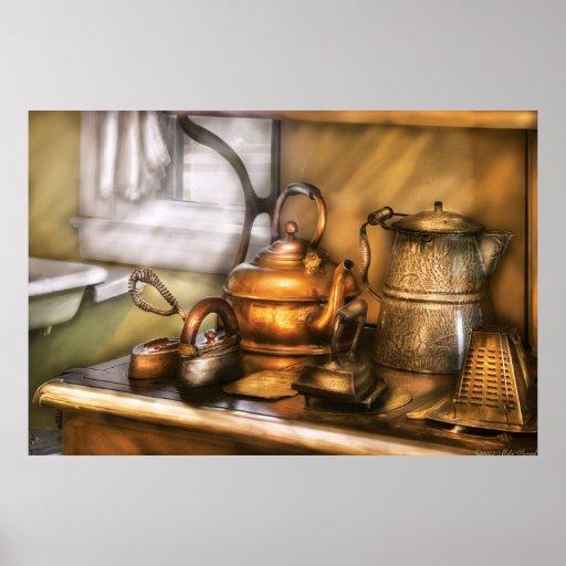 Caldera - potes e hierros del té posters