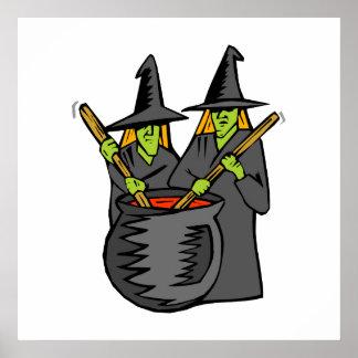 Caldera stiring witched dos poster