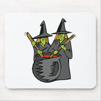 Caldera stiring witched dos tapetes de ratón