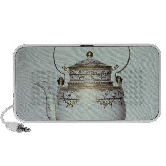 Caldera y soporte de la porcelana de Louis XVI hec Laptop Altavoz