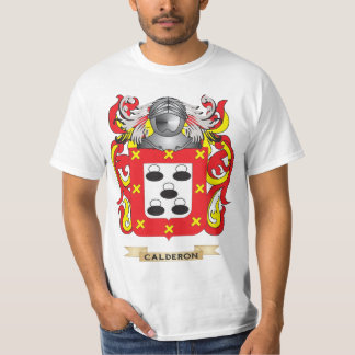 Calderon Coat of Arms (Family Crest) T-Shirt