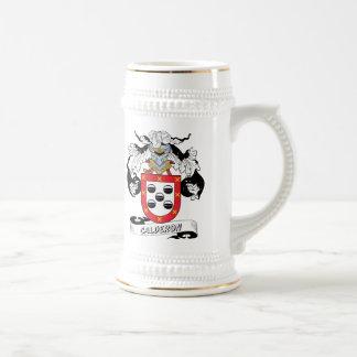 Calderon Family Crest Beer Stein