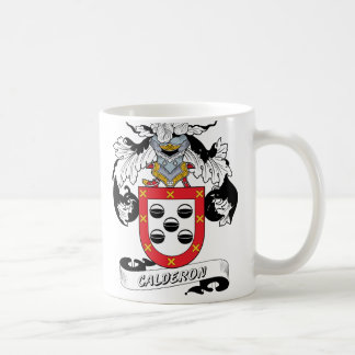 Calderon Family Crest Coffee Mug