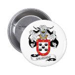 Calderon Family Crest Pinback Button