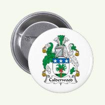 Calderwood Family Crest Button