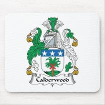 Calderwood Family Crest Mousepad