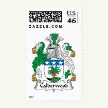 Calderwood Family Crest Stamps