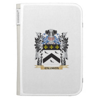 Caldron Coat of Arms - Family Crest Kindle Case