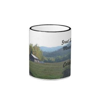 Caldwell barn valley ,catalochee nc ringer mug