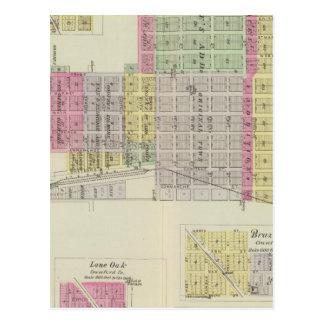 Caldwell, Cherokee, Opolis, and McCune, Kansas Postcard