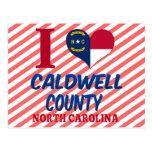 Caldwell County, North Carolina Postcard