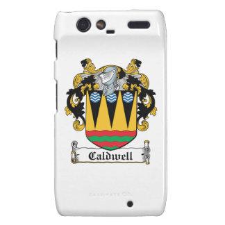 Caldwell Family Crest Motorola Droid RAZR Cover