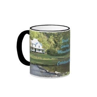 Caldwell house ,catalochee nc ringer mug