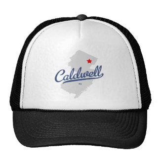 Caldwell New Jersey NJ Shirt Trucker Hat
