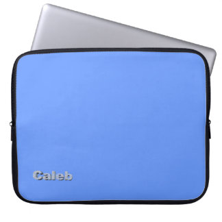 Caleb Light Blue Laptop Sleeve