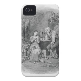 Caleb Plummer and his blind daughter, from 'Charle iPhone 4 Cover