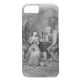 Caleb Plummer and his blind daughter, from 'Charle iPhone 7 Case
