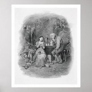 Caleb Plummer y su hija ciega, de 'Charle Póster