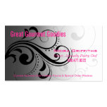 Caleché Swirl Stylish Business Card template