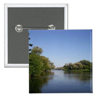 Caledonia Bridge Landscape Button