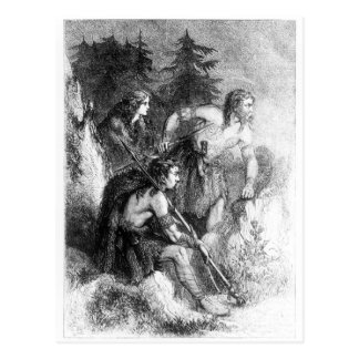 Caledonians, or Picts Postcard
