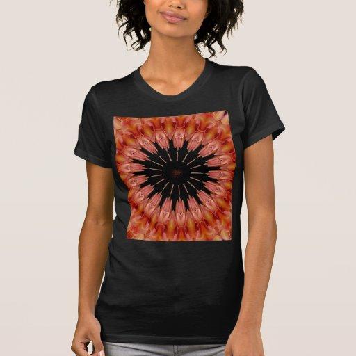 Caleidoscopio #10 del lirio camiseta