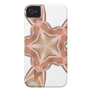 Caleidoscopio abstracto de los zapatos de ballet Case-Mate iPhone 4 funda