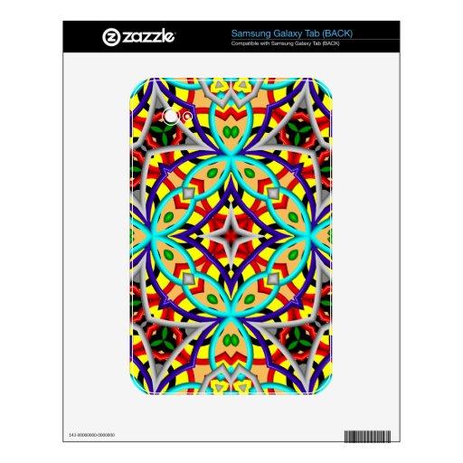 Caleidoscopio abstracto multicolor