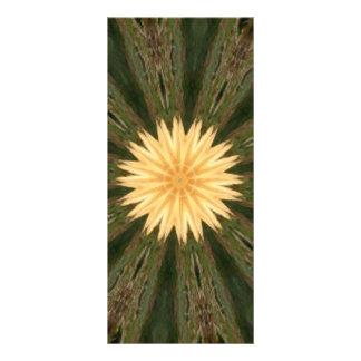 Caleidoscopio amarillo de la hierba verde de Sun Lona