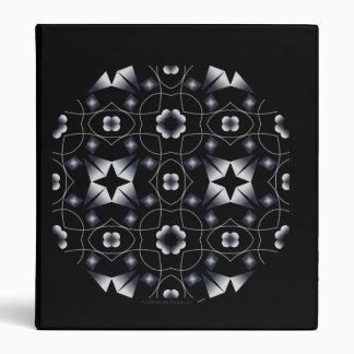 """Caleidoscopio brillante negro del maleficio de la  carpeta 1"""""""