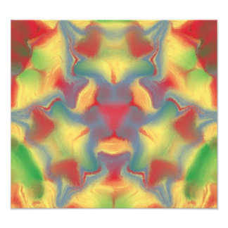 Caleidoscopio colorido arte fotográfico