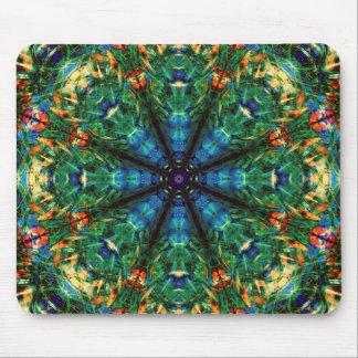 Caleidoscopio de colores tapete de ratón