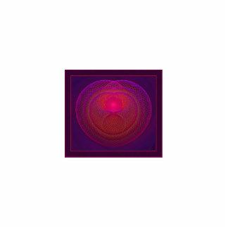 Caleidoscopio de giro del alma adorno fotoescultura