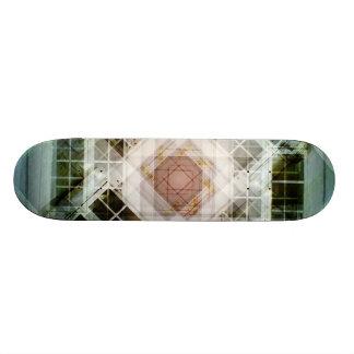 Caleidoscopio de la foto tabla de skate