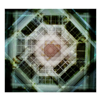 Caleidoscopio de la foto póster