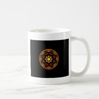 Caleidoscopio de la rueda de la nave de la estrell tazas de café