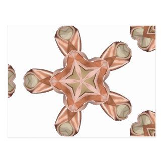 Caleidoscopio de los zapatos de ballet tarjetas postales