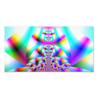 Caleidoscopio del arco iris fotografia