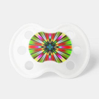 Caleidoscopio del color chupetes para bebés