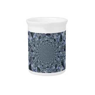 caleidoscopio del fractal jarron