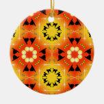 Caleidoscopio del gorra de la bruja de Halloween y Ornamentos De Navidad