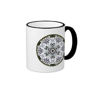 Caleidoscopio del Lemur Taza De Café