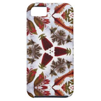 Caleidoscopio extraño del dibujo de la flor del iPhone 5 Case-Mate coberturas