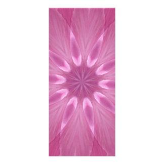 Caleidoscopio femenino dulce suavemente rosado tarjetas publicitarias a todo color