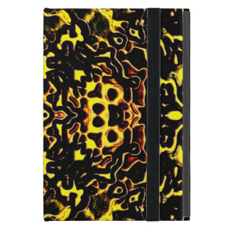 Caleidoscopio floral iPad mini fundas